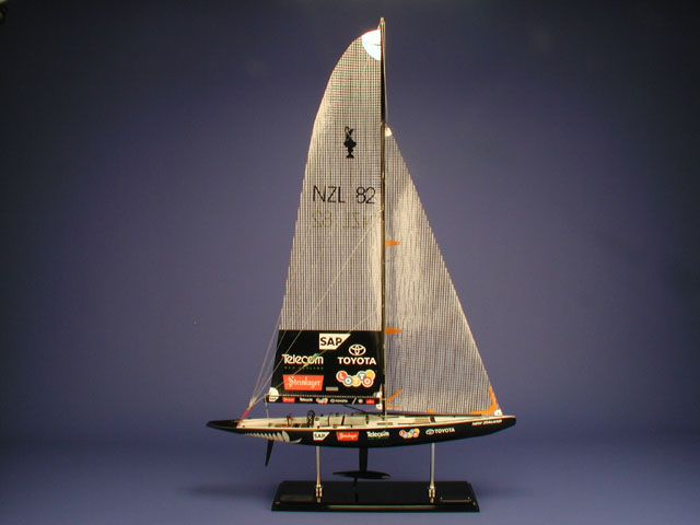 Team New Zealand Ship Model